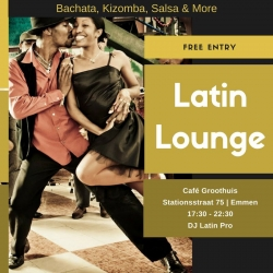28-01-2018 - Latin Lounge met workshop Styling and Partnering voor mannen en vrouwen door Monique vd Berg